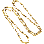 """French Gold Filled Necklace -MURAT -  23½"""""""