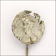 French Antique Silver 'L'Aiglon' - King of Rome Stick Pin