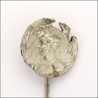 French Antique Silver 'L'Aiglon' - King of Rome Stick Pin