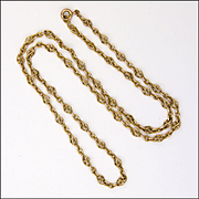 French 18K Gold Filled Necklace -FIX