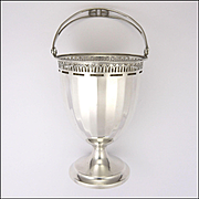 English Art Deco Sterling Silver Bonbon/Sugar Basket - Hallmarked 1925