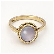 14K Star Sapphire Ring