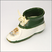 Victorian China Fairing - Boot with Cherub