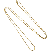 "14K Decorative Gold Chain - 24"" - 3.6 grams"