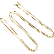 9k Gold Long Chain - 27 inches