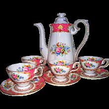 Royal Albert Lady Carlyle Demitasse Coffee Set