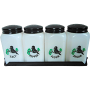 "McKee Tipp City ""Blackbird"" Range Shaker Set"