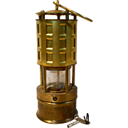 Koehler Miners Safety Lamp
