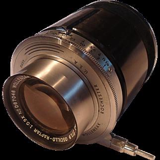 Wollensak-Dumont Camera Lens