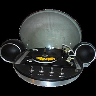 Electrohome Apollo 860 Bubble Top Stereo Record Player