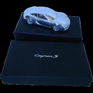Porsche Cayman S Paperweight