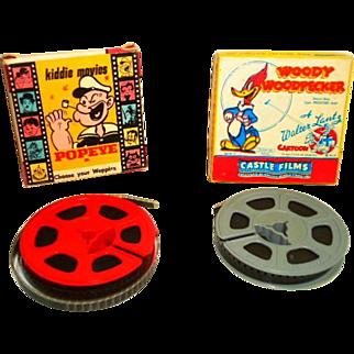 Vintage Walt Disney 8MM Movies