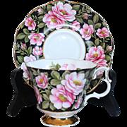 """Royal Albert """"Flora Series"""" Rambler Rose Cup & Saucer"""