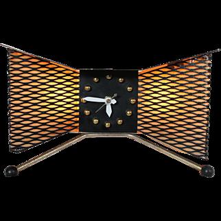 Snider Bow Tie TV Lamp Clock