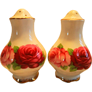 Royal Albert Old English Rose Salt & Pepper Shakers