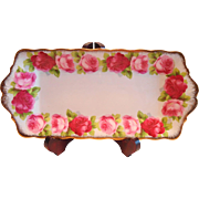 Royal Albert Old English Rose Sandwich Tray