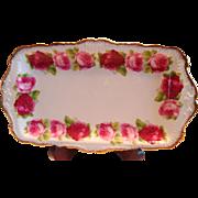 Royal Albert Old English Rose Large Sandwich Tray