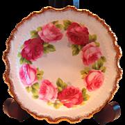 Royal Albert Old English Rose Sweet Meat Dish