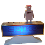 """SEIKO The Automation Age Watch"" Lighted Store Display"