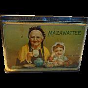 Mazawattee Tea Tin