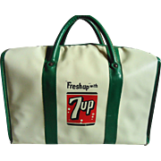Vintage 7-Up Insulated Cooler Bag