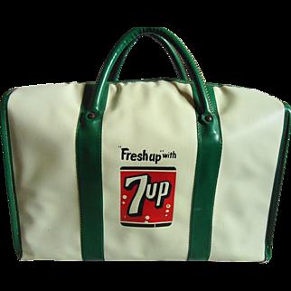 Vintage 7-Up Insulated Cooler Bag