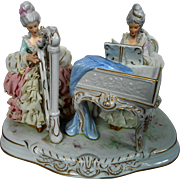 Dresden Laced Musical Figurine (2)