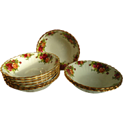Royal Albert Old Country Roses Cereal Bowls