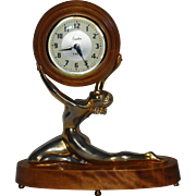 Snider 8 Day Nude Clock