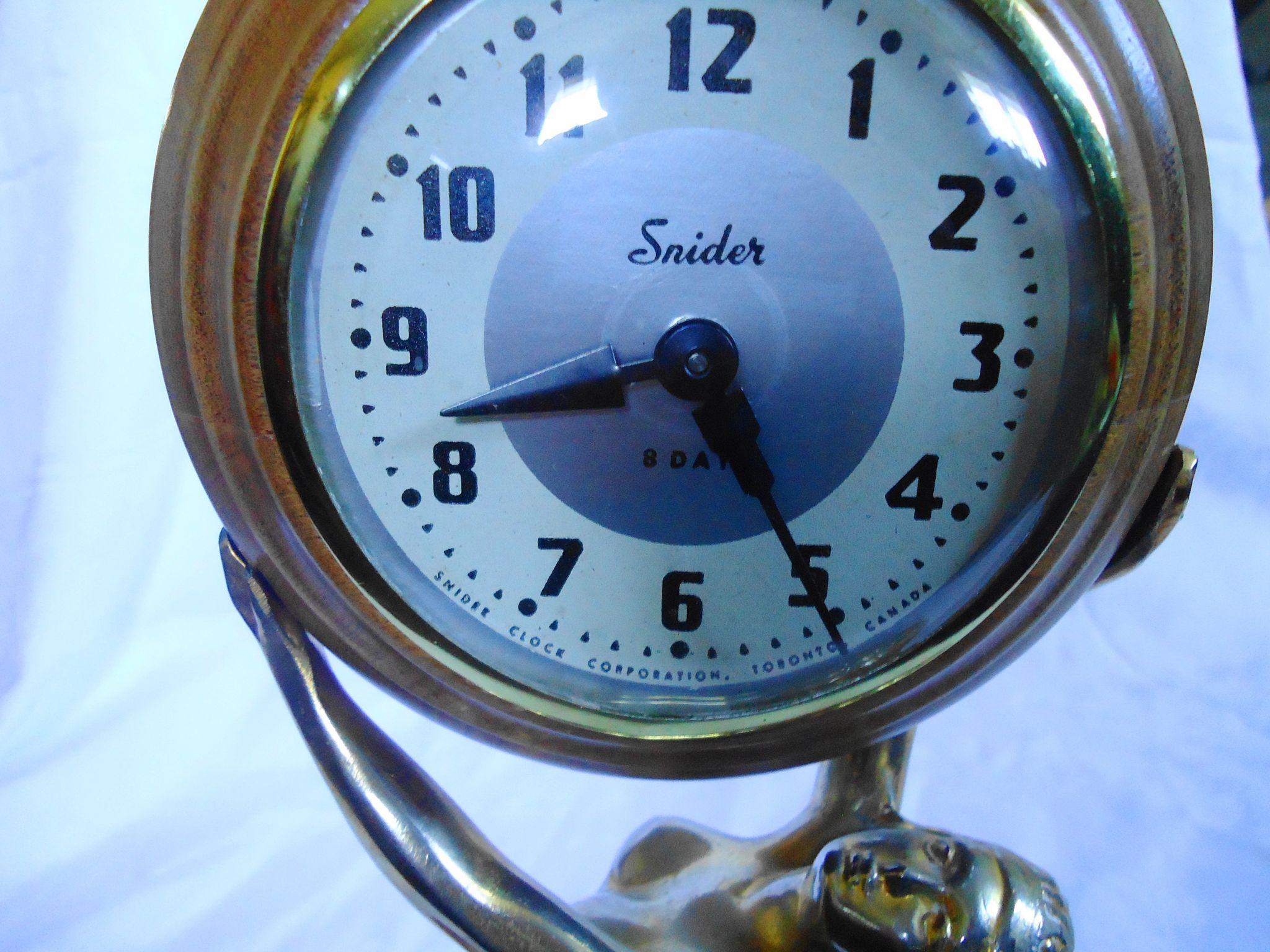 Snider 8 Day Nude Clock : Sweet Cs Collectibles | Ruby Lane