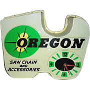Oregon Saw Chain Clock