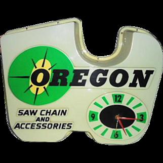 Oregon Saw Chain Clock
