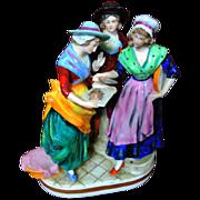 Capodimonte Multi Figural Figurine