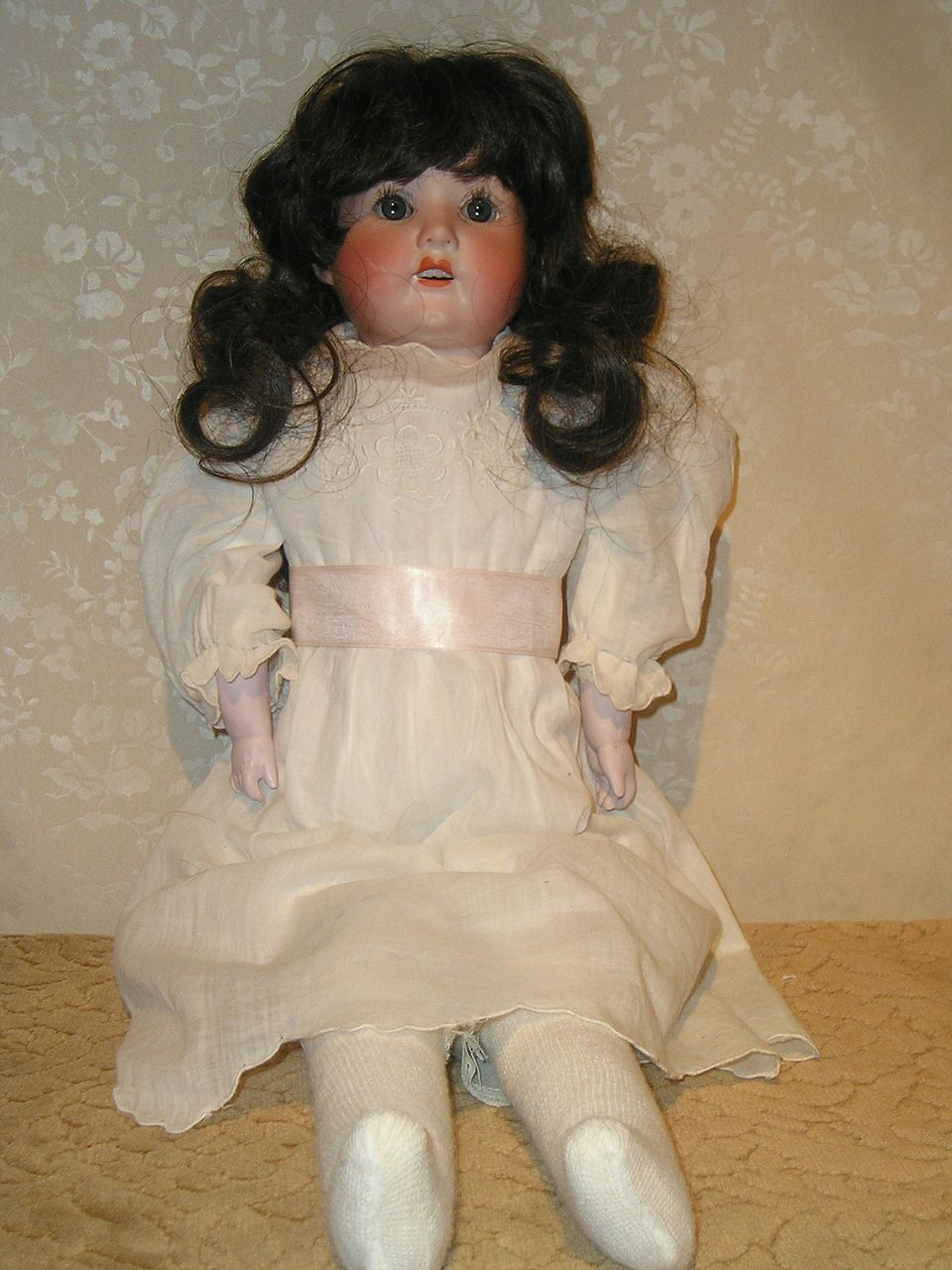 Heubach Koppelsdorf - Germany -  Porcelain Girl Child Doll 275. 3/0 ca 1900's