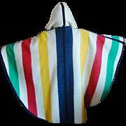 Hudson Bay Company Blanket Cape