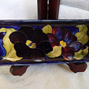 Moorcroft Clematis Tray