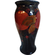 """8"""" Moorcroft Pomegranate Vase"""