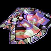 """Emilio Pucci - Silk Scarf - Made in Italy  22-1/2"""" Square"""