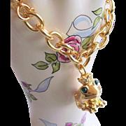 Estee Lauder Charm Bracelet - Lipstick Accessory - Limited Edition Vanity Collectible