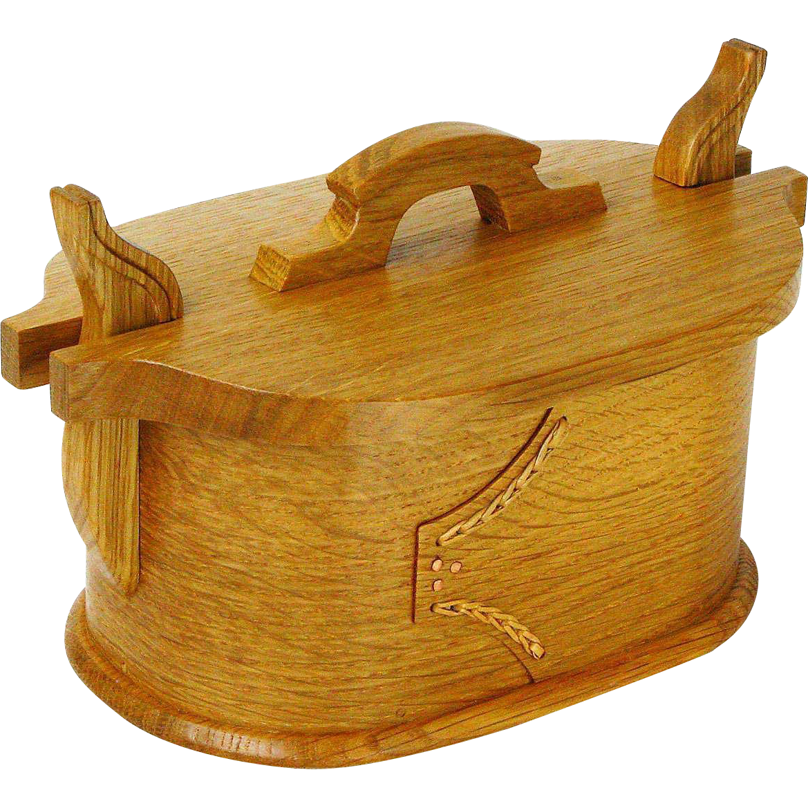 Norwegian Style Artisan Crafted White Oak Tine made at Sweetpea Cottage