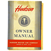1948 Hudson Motor Car Owner Manual