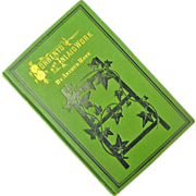 "1876, Antique Book ""Sorrento and Inlaid Work"", by Arthur Hope, Chicago,"