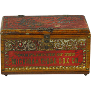 Salesman Sample Michigan Cigar Box Company, Ca. 1895