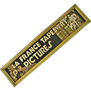 Framed La France Tapestry Advertisement
