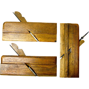Three Sandusky Tool Company Molding Planes, Ca. 1869-1926
