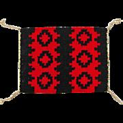 Hand Woven Ganado Style Navajo Weaving, Tapestry, Ca. 1970's
