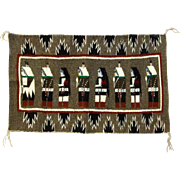 Navajo (Dineh) Yei Weaving, Display Piece, Wall Hanging
