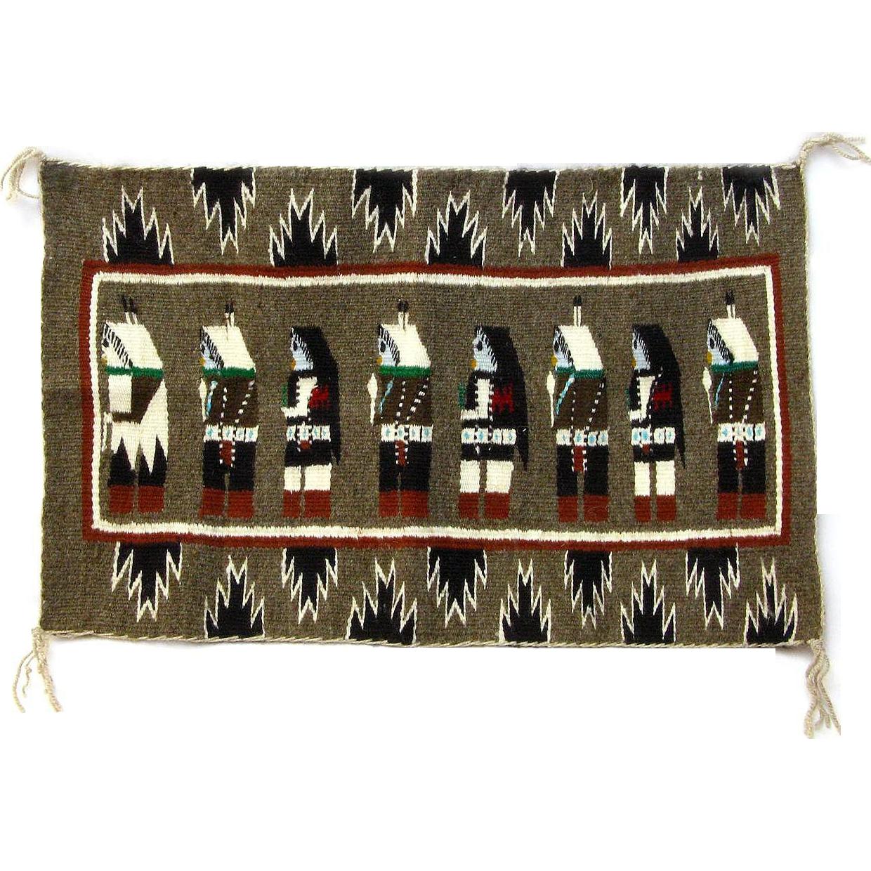 Navajo Yei Weaving, Display Piece, Wall Hanging