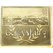"""Gettysburg"" Battlefield Souvenir Booklet, Photographs by W.H. Tipton, 1905"