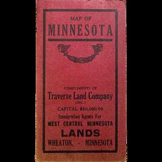 Promotional Map of Minnesota, 1914, Traverse Land Company